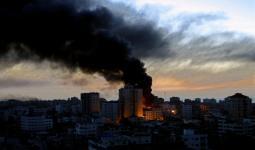 صورة أرشيفية- طائرات الاحتلال تستهدف موقعاً في غزة و