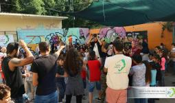 جانب من نشاطات مؤسسة جفرا في اليونان