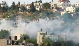 مواجهات في قرية كوبر واعتقال والدة الأسير عمر العبد