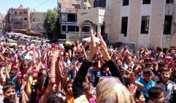 فرحة الأطفال الفلسطينيين في العيد - قدسيا
