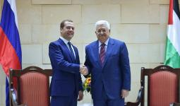 لقاء عباس مدفيديف