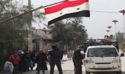 صورة أرشيفية لإحدى حواجز النظام السوري