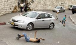 فلسطين المحتلة- صورة أرشيفية لقيام مستوطن بدهس فلسطيني