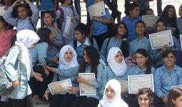 دائرة اللاجئين تُكرّم طلبة من مخيّم عايدة