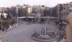 مخيم اليرموك: إصابة طفل بجراح واستهداف المخيّم بعشرة صواريخ