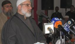الشيخ جمال خطاب أمين سر القوى الاسلامية الفلسطينية