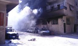 قذائف هاون من العيار الثقيل تستهدف مخيّم اليرموك للاجئين جنوب دمشق