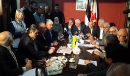 خلال اجتماع ممثلو الفصائل الفلسطينية