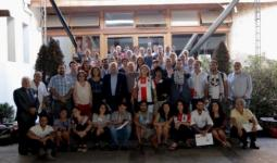 صورة أرشيفية لمؤتمر سابق للجالية الفلسطينية في أميركا اللاتينية