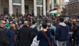 تحرّكات في برلين وبروكسل دعماً للأسرى تزامناً مع ذكرى النكبة واتّساع رقعة مقاطعة الاحتلال