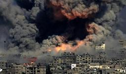 صورة أرشيفية من العدوان الصهيوني على غزة
