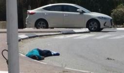 الشهيد محمد مرشود عقب إطلاق النار عليه