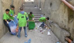 مشروع لتحسين الظروف البيئية والصحيّة في مخيّم شعفاط للاجئين