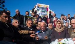 مكتب اللجان الشعبية في مخيّمات غزة يُحيي يوم الشهيد الفلسطيني