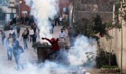 صورة أرشيفية خلال مواجهات مع قوات الاحتلال