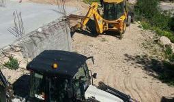 القدس المحتلة- من مكان عملية الهدم