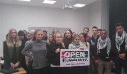إطلاق الحملة الدولية الثامنة بمشاركة أوروبيّة لإعادة فتح شارع الشهداء بالخليل