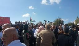 احتجاجات أمام السفارة البريطانيّة في عمّان في مئويّة