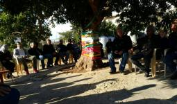 50 عائلة فلسطينية في تجمع الشبريحا مهددة بالتشرد