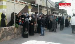 مخيم خان الشيح محاصرا والجوع والمرض يلوحان بالأفق