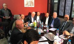 خلال اجتماع القوى والفصائل الوطنية والاسلامية الفلسطينية