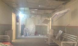 قضاء لاجئ فلسطيني إثر حريق في مشفى ميداني بمنطقة تل شهاب