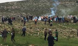 مواجهات وإصابات في الضفة المحتلة في مسيرات إحياء ذكرى يوم الأرض