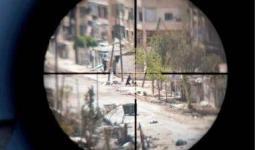 استشهاد سيّدة فلسطينية برصاصة قنّاص في مخيّم اليرموك