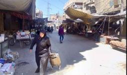 الطريق الواصل بين يلدا ومخيم اليرموك