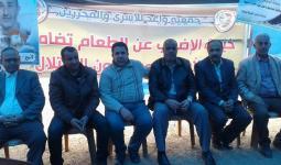 من الخيمة التضامنية مع الأسرى المضربين في سجون الاحتلال