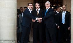 اتفاق بين الكيان الصهيوني وقبرص واليونان على تشكيل