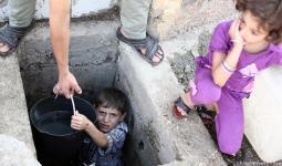 معاناة جديدة تواجه اللاجئين في دمشق جراء قطع الماء عن العاصمة