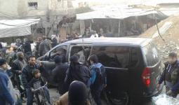 مخيم اليرموك.. داعش تحصن مواقعها وسط فرار قاداتها وعناصرهم للرقة