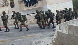 اقتحامات واعتقالات في الضفة المحتلة ومواجهات في مخيّم الدهيشة