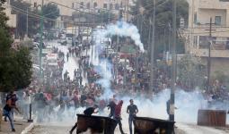 شبان مخيم عايدة يستهدفون قوات الاحتلال بـ