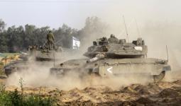 توغّل قوات الاحتلال شرقي خانيونس وإطلاق النار على أعلام فلسطين