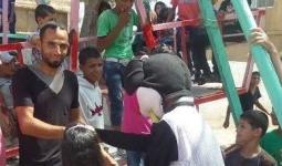 الإفراج عن أحد أبناء مخيم خان الشيح بعد اعتقال دام لحوالي الشهر.