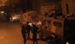 اقتحامات واعتقالات بالضفة المحتلة تطال مخيميّ قلنديا وعسكر الجديد