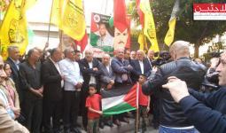 جانب من الاعتصام في شارع الحمرا ببيروت