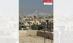 مخيم درعا.. 7 جرحى ودمار في المنازل بعد سقوط صاروخي فيل