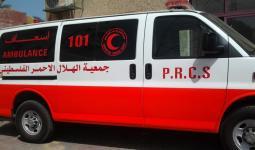 اسعاف جمعية الهلال الأحمر الفلسطيني