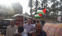 اللجنة الشعبيّة في دير البلح تُحيي ذكرى النكبة