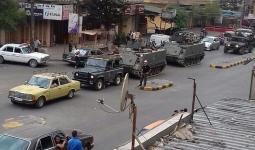 من الارشيف للجيش اللبناني في محيط مخيم البداوي