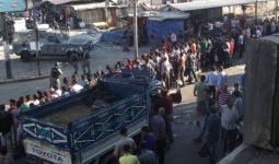سقوط أجزاء من سقف منزل في مخيّم الزرقاء