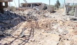 ستة شهداء بينهم طفلة وثلاث نساء بعد استهداف قافلة كانت تقلهم في مخيم خان الشيح