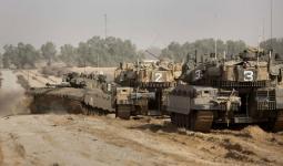 آليّات الاحتلال تتوغّل شرقي مخيّم البريج