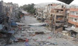منطقة دوار فلسطين في مخيم اليرموك