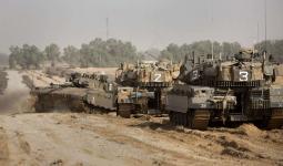 توغل محدود لجرافات الاحتلال الصهيوني شرق البريج