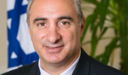 السفير الصهيوني الجديد في أنقرة إيتان نائيه