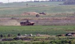 توغّل آليات الاحتلال شرقي مخيّم البريج واستهداف قوارب الصيادين